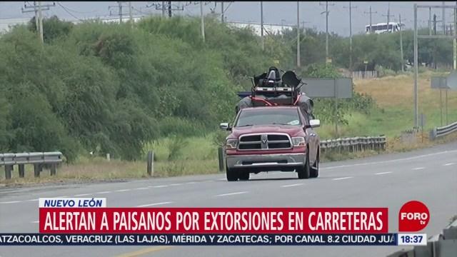 FOTO: Alertan Paisanos Por Extorsiones Carreteras