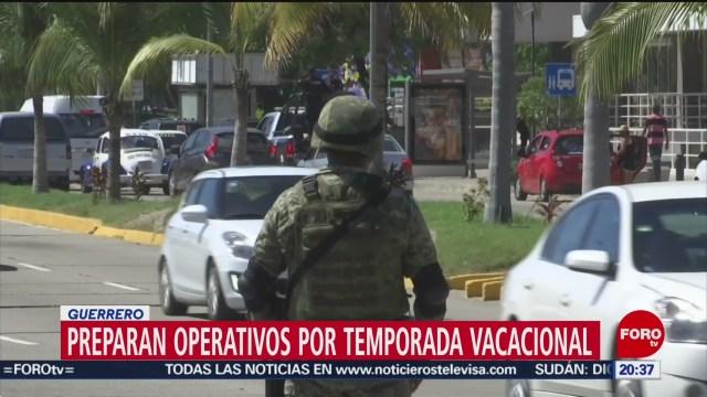 Foto: Alistan Operativos Temporada Vacacional Guerrero 13 Diciembre 2019
