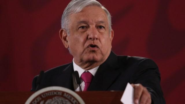 Foto: Andrés Manuel López Obrador, presidente de México, en su conferencia de prensa, 26 diciembre 2019