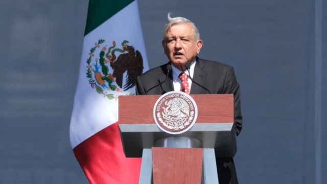 Foto: El presidente de México, Andrés Manuel López Obrador (AMLO), dio un mensaje por su primer año de gobierno, 1 diciembre 2019