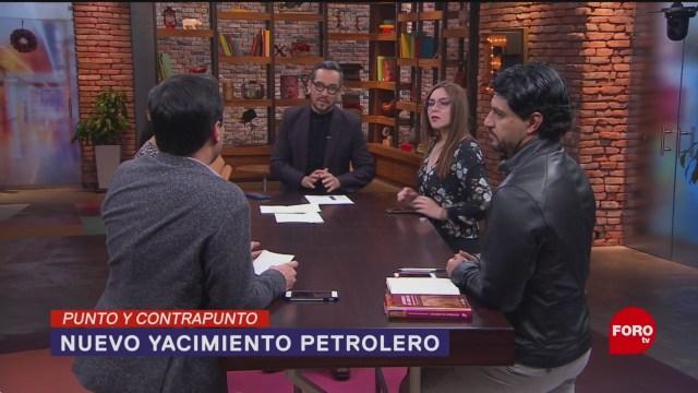 Foto: Nuevo Yacimiento Petrolero México Anuncio 10 Diciembre 2019