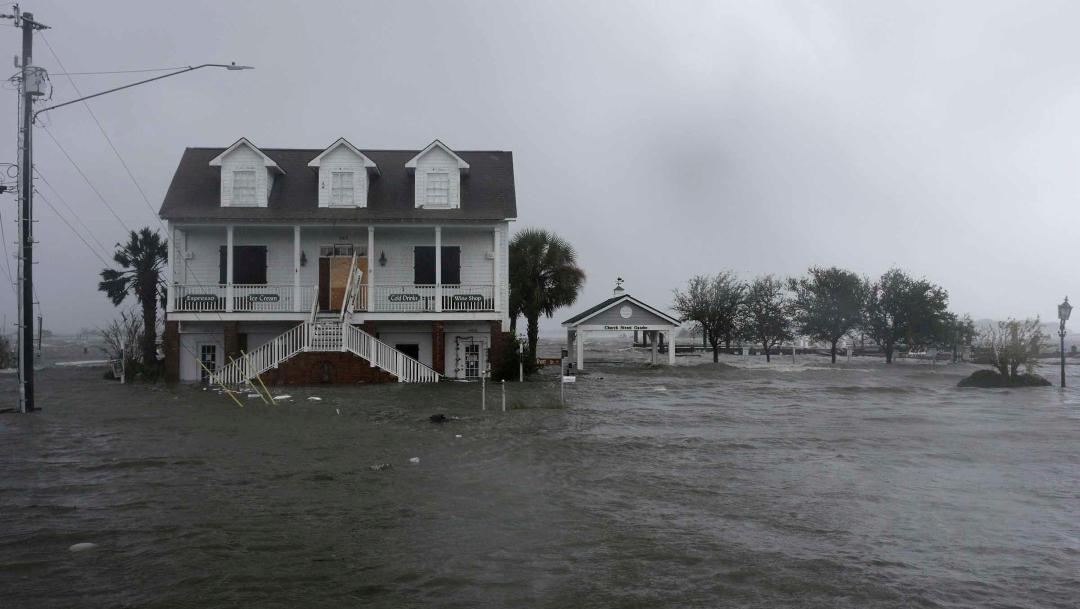 Foto: Aumento en nivel del mar amenaza ciudades históricas de EEUU, 5 de diciembre de 2019, (AP)
