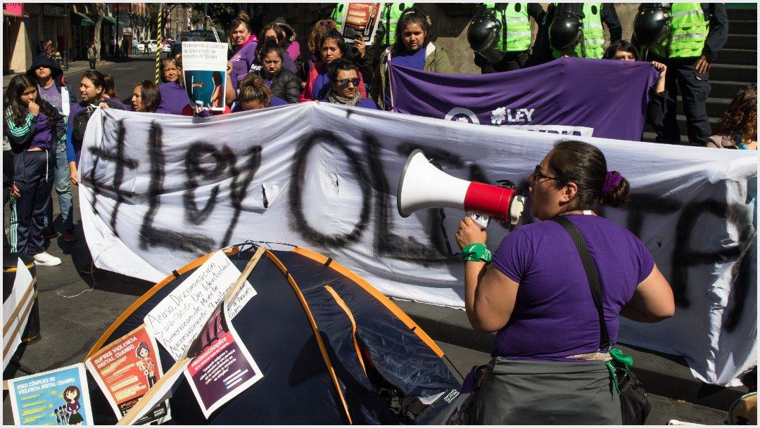 Imagen: Aprueba Congreso de la CDMX la Ley Olimpia, 3 de diciembre de 2019(MOISÉS PABLO /CUARTOSCURO.COM)
