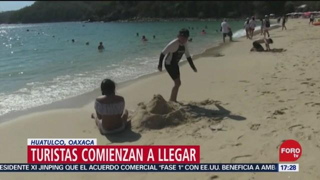 FOTO: 20 diciembre 2019, arranca operativo para proteccion a turistas en huatulco