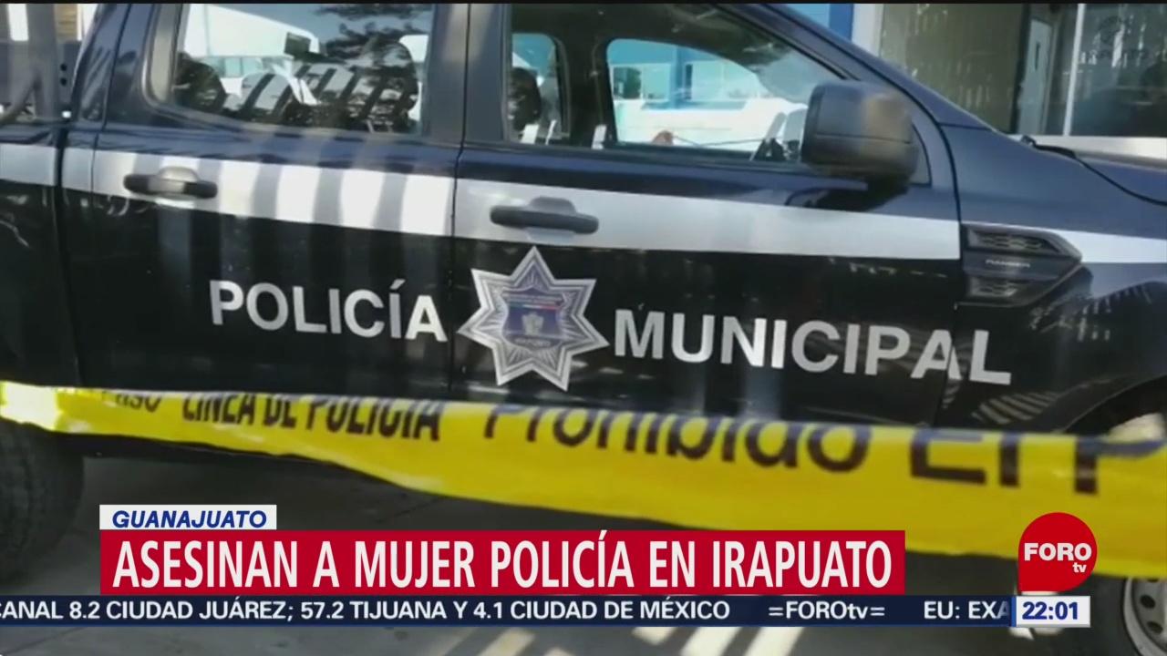 FOTO: Asesinan a mujer policía afuera de tienda de Irapuato, 15 diciembre 2019