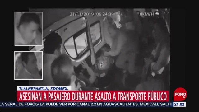 Foto: Video Asesinan Pasajero Durante Asalto Combi Tlalnepantla 9 Diciembre 2019