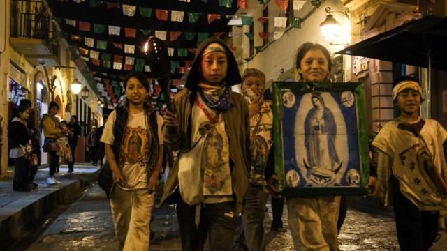 Festejos a la Virgen de Guadalupe en diferentes estados