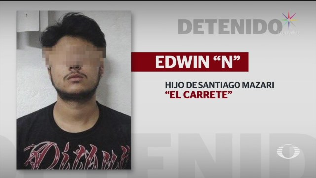 Foto: Detención Edwin Hijo Santiago Mazari El Carrete 20 Diciembre 2019