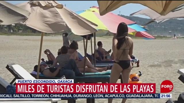 Foto: Playas Puerto Escondido Oaxaca Fin de Año 28 Diciembre 2019