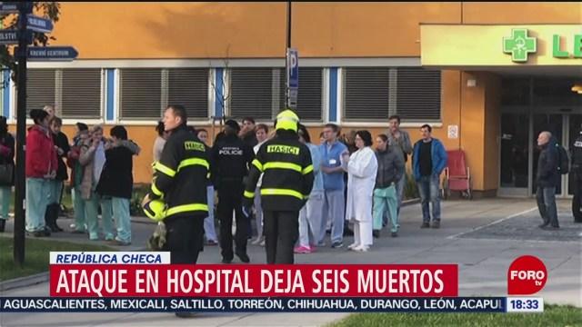 FOTO: Ataque Hospital Deja Seis Muertos República Checa