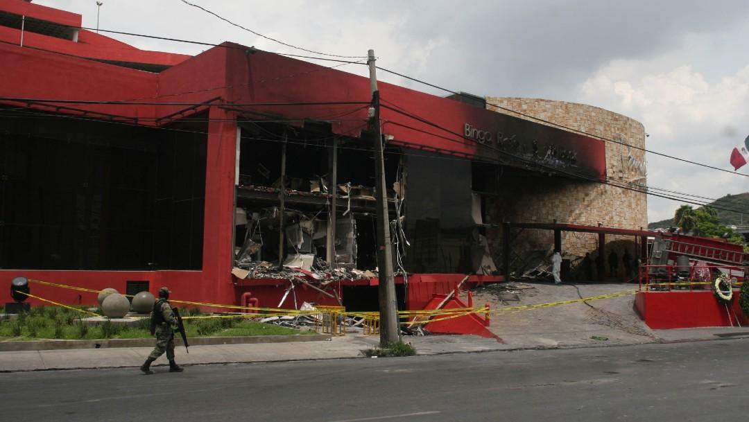 Foto: Ataque al Casino Royale, en Monterey, México