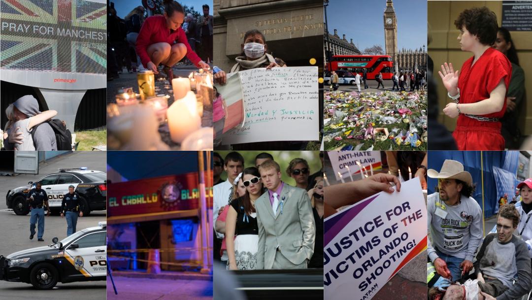 Atentados terroristas y matanzas dominan década que termina