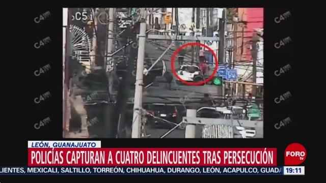 Foto: Video Detención Cuatro Presuntos Rateros Guanajuato 9 Diciembre 2019