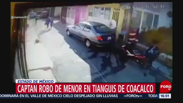 FOTO: video robo niño Edomex