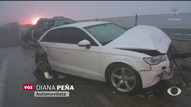 FOTO: 31 diciembre 2019, carambolas en autopista saltillo monterrey dejan al menos 20 heridos