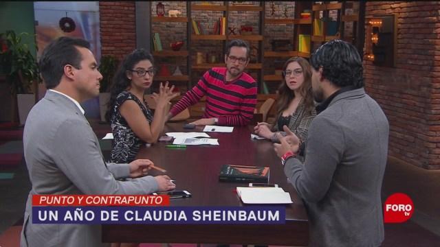 Foto: Claudia Sheinbaum Balance Año Gobierno CDMX 5 Diciembre 2019