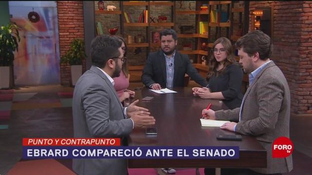 Foto: Comparecencia Marcelo Ebrard Ante Senado 4 Diciembre 2019