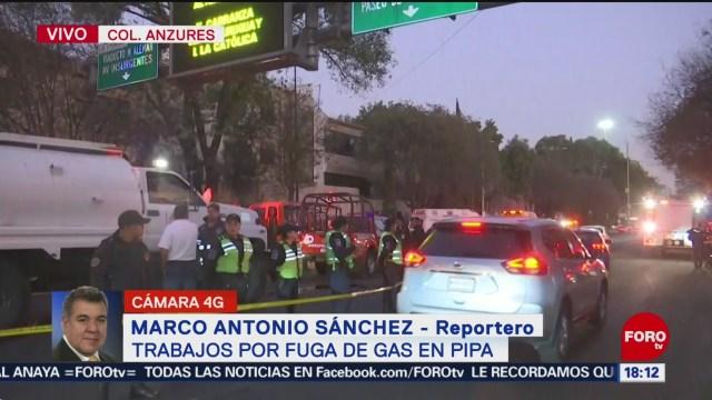 FOTO: Continúan Trabajos Por Fuga Gas Colonia Anzure