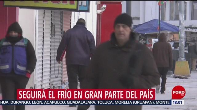 Foto: Frío Bajas Temperaturas Noroeste Norte México 28 Diciembre 2019