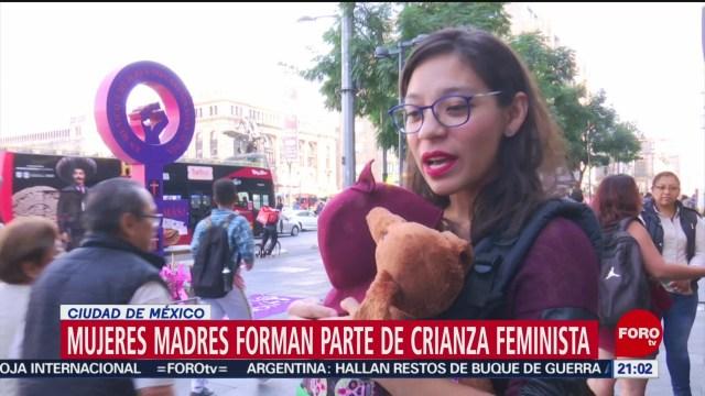 Foto: Crianza Feminista Colectivo Madres Combina Maternidad Feminismo 5 Diciembre 2019