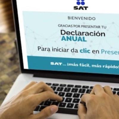 ¿Cuál es la fecha límite para presentar la declaración anual al SAT?