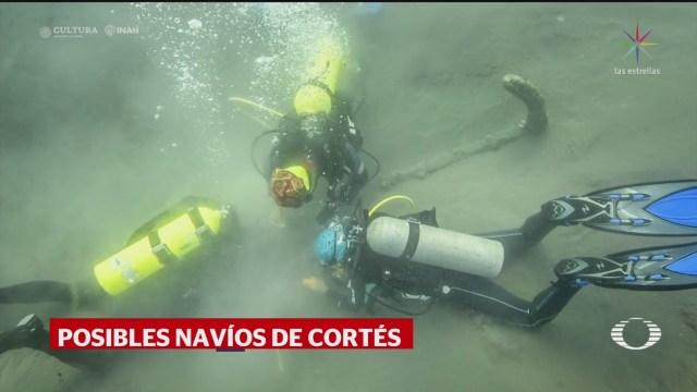 Foto: Descubren Anclas Barcos Pudieron Hernán Cortés 17 Diciembre 2019