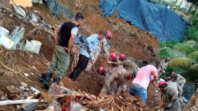 FOTO: Sube a siete el número de muertos tras un deslizamiento de tierra en Brasil, el 24 de diciembre de 2019