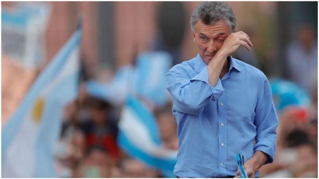 Foto: Mauricio Macri fue despedido este sábado por sus seguidores en Argentina, 7 de diciembre de 2019 (EFE)