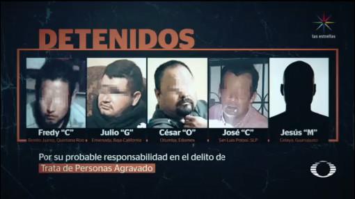 Foto: Detienen Cinco Mexicanos Tráfico Pornografía Infantil 19 Diciembre 2019