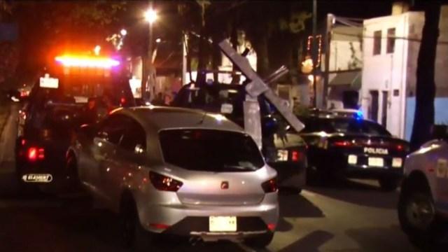 FOTO: Detienen cuatro vehículos por participar en arrancones en CDMX, el 16 de diciembre de 2019