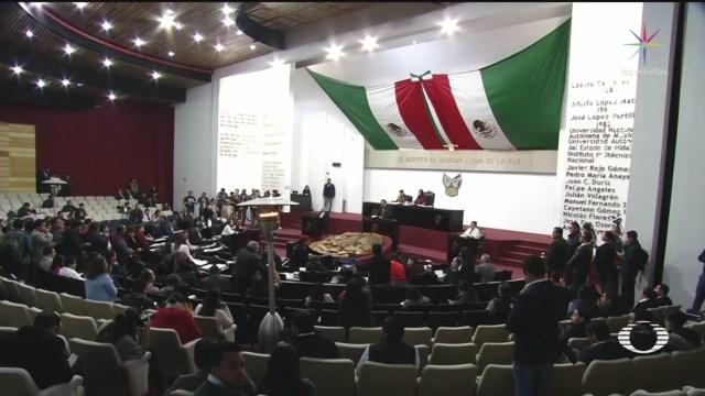 Foto: Diputados Hidalgo Rechazan Despenalización Aborto 12 Diciembre 2019
