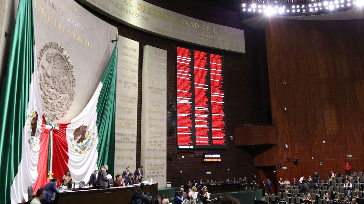 Diputados aprueban reformas contra violencia de género política