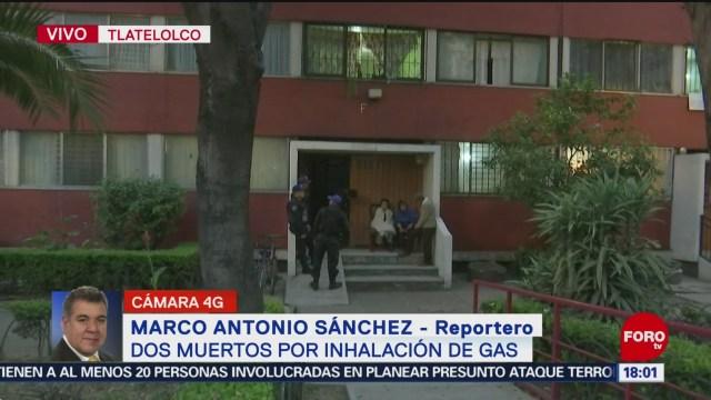 FOTO: Dos Personas Mueren Por Intoxicación Monóxido Carbono Tlatelolco