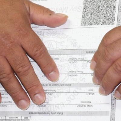 Colima ya emite actas de nacimiento, matrimonio y divorcio en braille