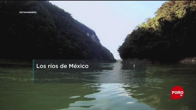 FOTO: El 63% de agua dulce que se consume en México proviene de los ríos, 8 diciembre 2019