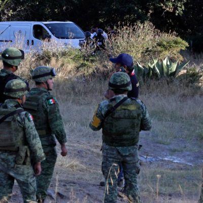 Matan a tres policías durante emboscada en San Miguel Xoxtla, Puebla