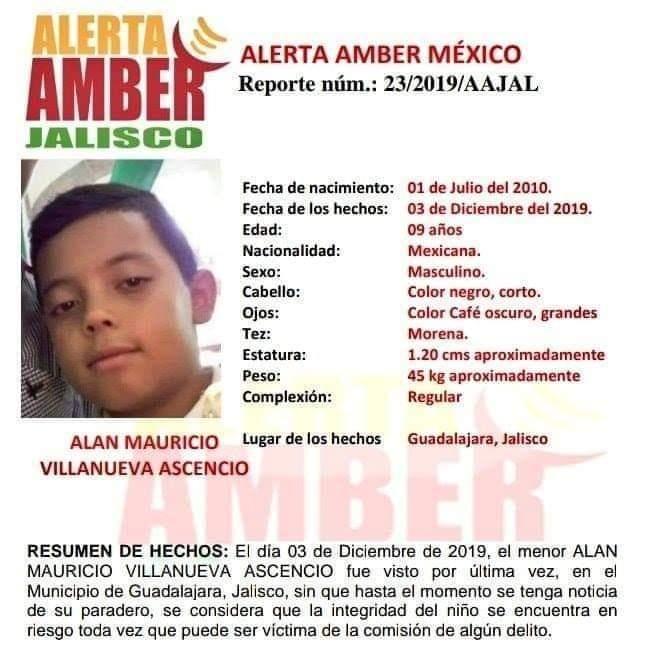 Alan-Mauricio-Virgen-Guadalupe-nino-secuestrado-Guadalajara