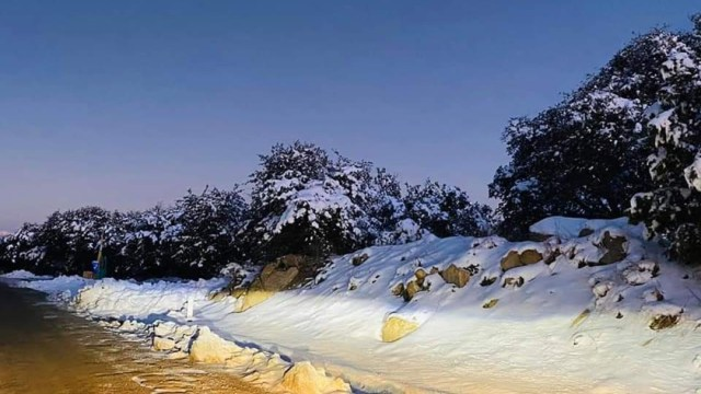 Foto: Nuevas nevadas cubren de blanco el estado de Sonora, de 26 años de edad, 14 de diciembre de 2019 (@ElYaquiChairo)