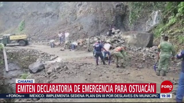 Foto: Emiten Declaratoria Emergencia Ostuacán Chiapas 13 Diciembre 2019