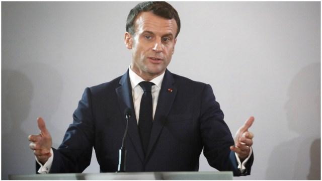 Imagen: Emmanuel Macron anunció que renunciará a su pensión de expresidente, 21 de diciembre de 2019 (EFE)