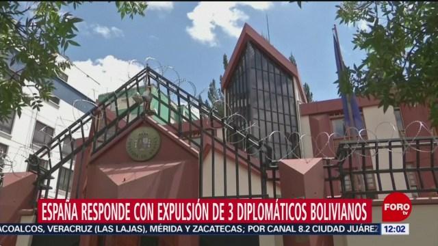 Foto: espana responde a bolivia con expulsion de 3 diplomaticos sudamericanos