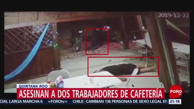 Foto: Extorsionadores Asesinan Trabajadores Cafetería 27 Diciembre 2019