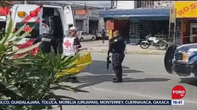 Foto: Balacera Negocio Cancún Quintana Roo Dos Muertos 29 Diciembre 2019