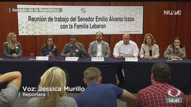 FOTO: Familia Lebarón Se Reúne Con Senadores