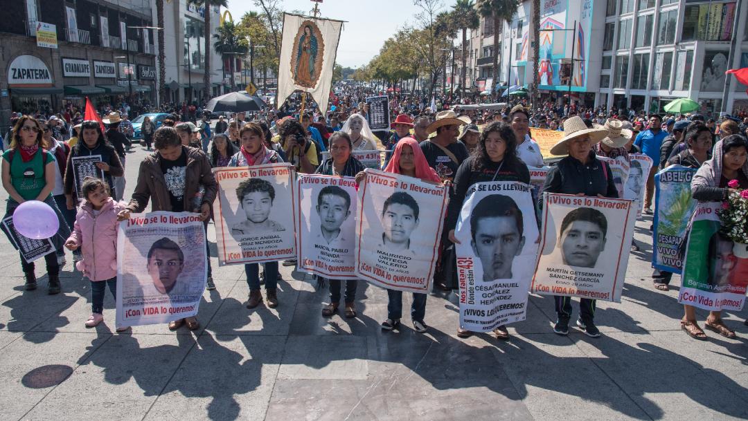 Investigación sobre Ayotzinapa debe llegar hasta Peña Nieto y Murillo, 26 de diciembre de 2019, (MARIO JASSO /CUARTOSCURO.COM)