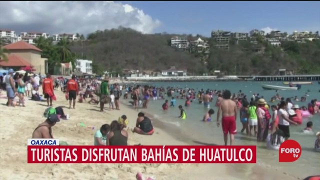 Foto: Vacaciones Fin Año Huatulco Familias Disfrutan 29 Diciembre 2019