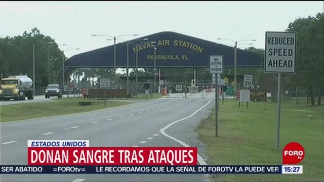 FOTO: FBI consideraría tiroteo en base naval de Florida como ataque terrorista, 8 diciembre 2019