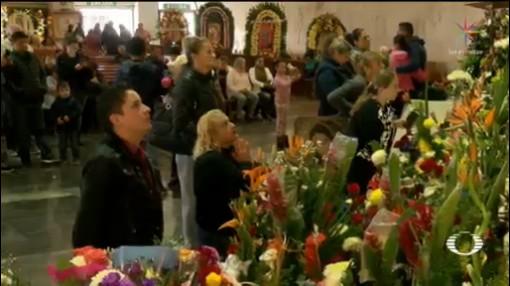 Foto: Feligreses Celebran Virgen Guadalupe México 11 Diciembre 2019