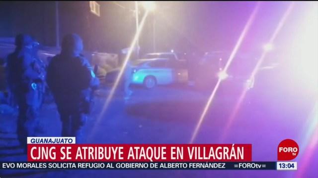 FOTO: Fiscalía Guanajuato Investiga Ataque Armado Contra Policía Villagrán