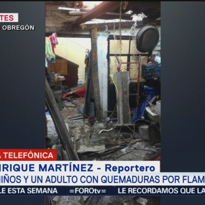 Flamazo por fuga de gas deja tres lesionados en CDMX